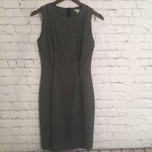 H&M size 4 grey work dress. NWT